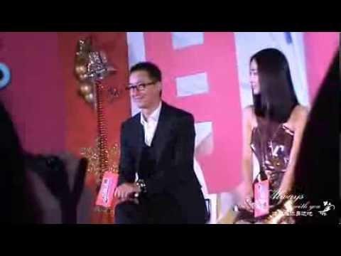 [VIDEO]131225 Han Geng at movie Ex File's Christmas Conference(full). cr:還跟在你身邊吧