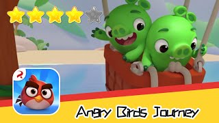 Angry Birds Journey 20 Walkthrough Fling Birds Solve Puzzles Recommend index four stars