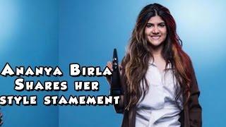Ananya Birla on her personal style statement