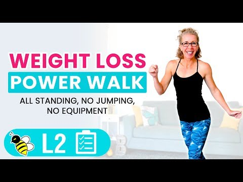 25 Minute WEIGHT LOSS Power Walk Workout for Women over 50