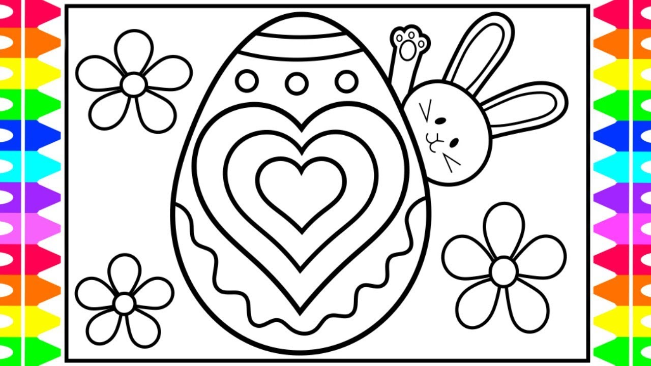 Easter Coloring Pages | 720x1280