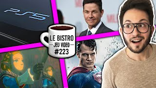 Un secret PS5 dévoilé ? Superman annulé, Mark Walhberg dans Uncharted, Zelda Breath of the Wild 2