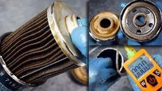 W jakim stanie jest filtr oleju MANN po 3000km na oleju Mannol Defender 10W40