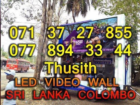 Mobile led promotion stage truck sri lanka colombo 0713727855