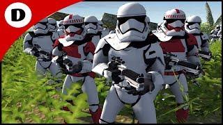FIRST ORDER FLAME TROOPER UPHILL ASSAULT - Men of War: Star Wars Mod