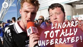 Jesse Lingard: Totally Underrated!   Manchester United 2-1 Leicester City   FANCAM