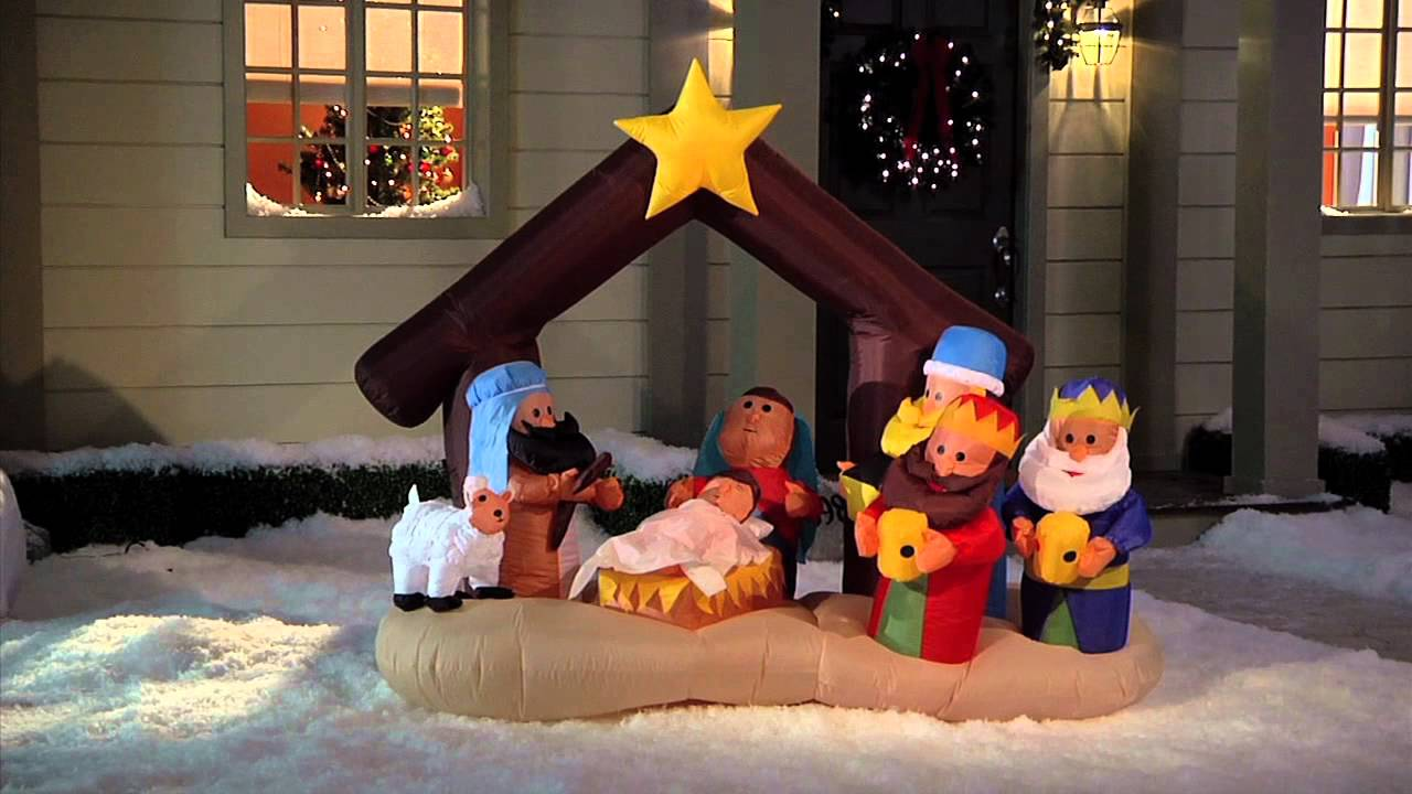 brylanehome holiday inflatables