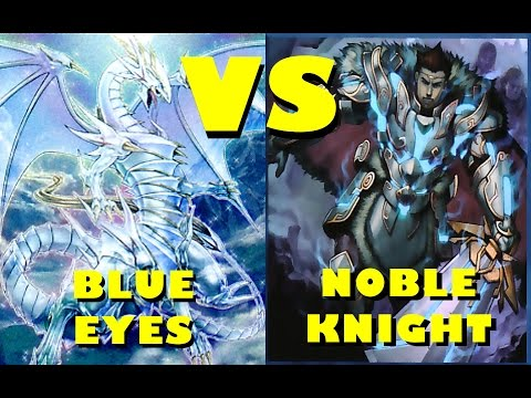 Real Life Yugioh - BLUE EYES vs NOBLE KNIGHT | July 2016 Scrub League
