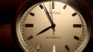 SINOBI stylish Tungsten Steel Band Automatic Mechanical Wrist Watch - Chinabuye