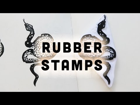 ✨DIY RUBBER STAMPS ✨