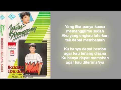 Julius Sitanggang - Laguku untuk Mama  (Lirik)