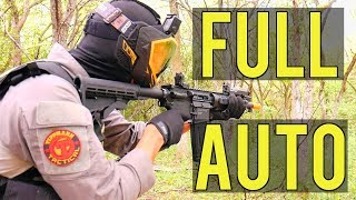 Full Automatic Airsoft | Codename: Thunder Game Play (Tippmann M4 CQB Blowback HPA)