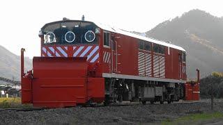 2020/11/13 試雪9661D キヤ143形(KY003編成) ラッセル試運転(復路)