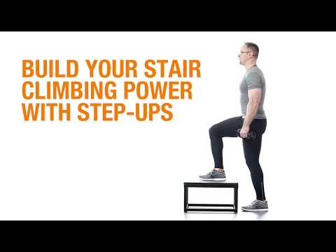 Wellness Wednesday: Build Your Stair Climbing Power With Step-ups