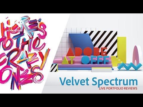 Discover the work of Velvet Spectrum | OFFF 2017 | Adobe Creative Cloud