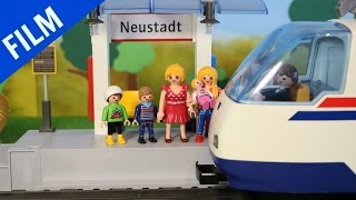 Playmobil Film Deutsch AM BAHNHOF
