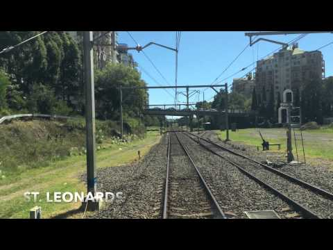 Central To Hornsby Via ECRL