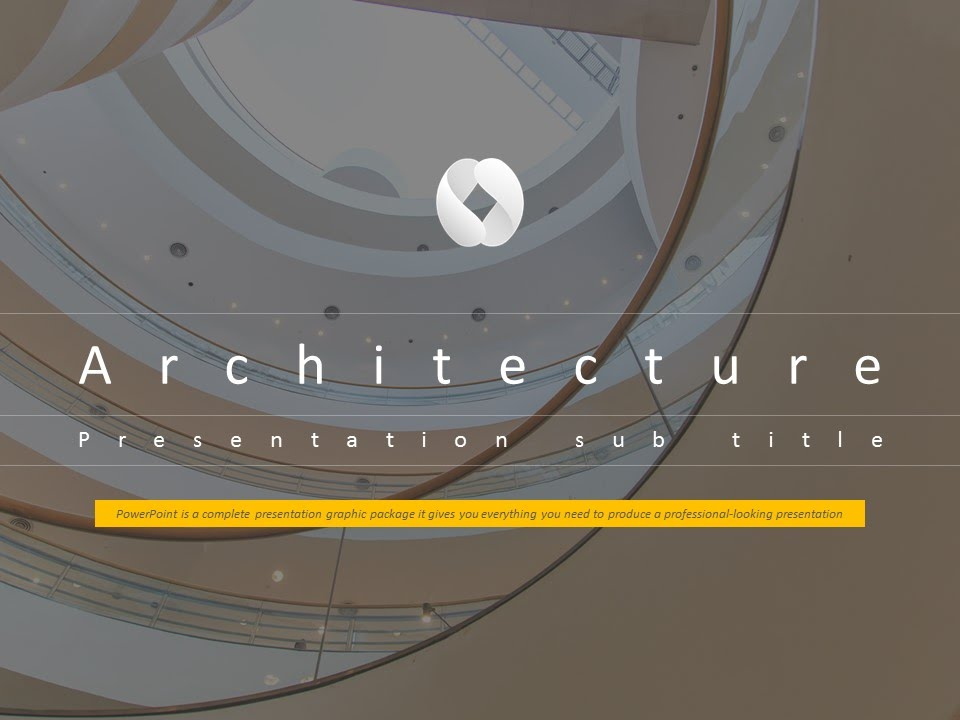 Architecture animated ppt template youtube architecture animated ppt template toneelgroepblik Images