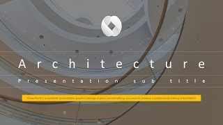 Architecture Animated PPT Template - YouTube
