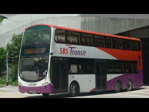 SBS Transit Bus Service 197, SBS7522R (Full Trip) (Direction 1)
