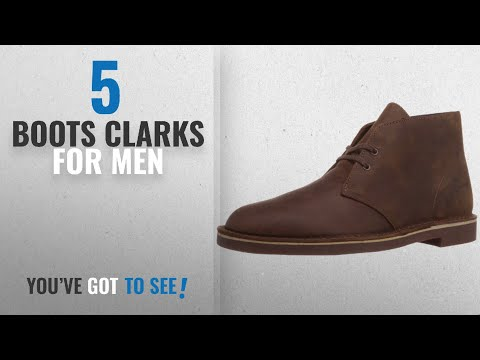 Top 10 Boots Clarks [ Winter 2018 ]: Clarks Men's Bushacre 2 Chukka Boot,Beeswax,11 M US