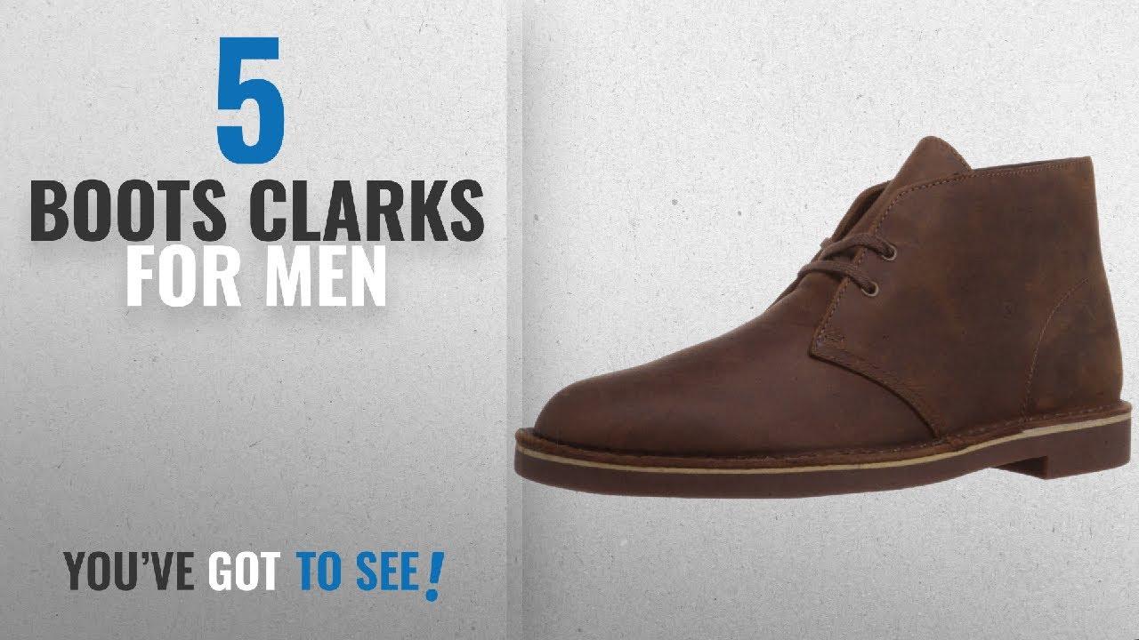 ae8f71312f4690 Top 10 Boots Clarks   Winter 2018    Clarks Men s Bushacre 2 Chukka ...