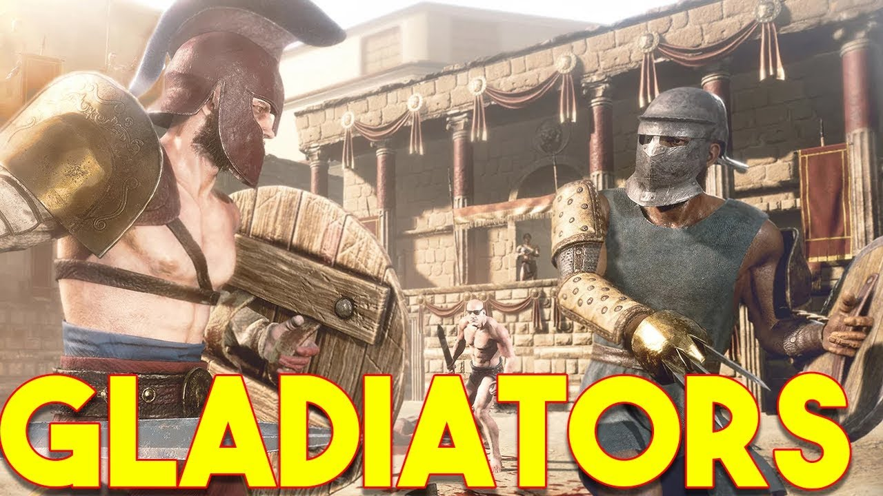 INSANE NEW ROMAN GLADIATOR GAME ANNOUNCED!