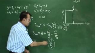 Clase 1, Caída Libre Teoría