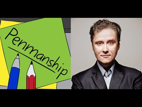 Penmanship Episode 31: Richard Fidler (August 2016)