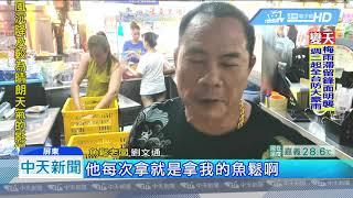 20190609中天新聞 東港知名魚鬆頻失竊 老闆自嘲:小偷認證