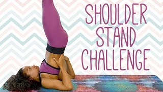 Yoga Workout for Shoulder Stand: Engaging the Bandhas, Challenge Your Balance & Core Strength 20 Min