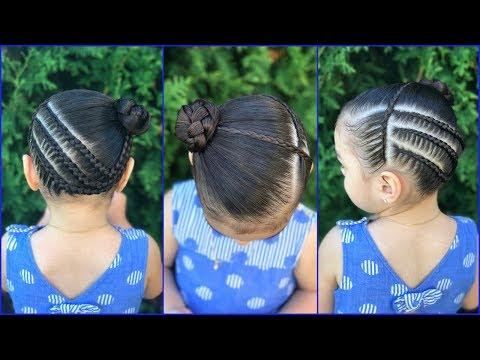 Peinados Para Ninas Con Trenzas De Lado Y Coleta Peinados Para Ninas
