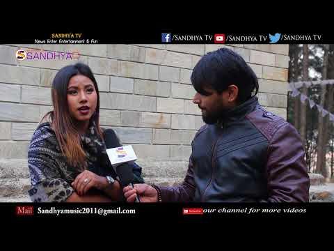 New Song Priti Ko Phool  Music Video Shooting Report || Sandhya Tv ||