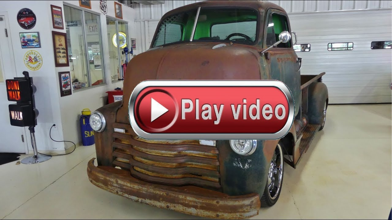 1952 Chevrolet Cabover 5 3 LS with Automatic Transmission - YouTube