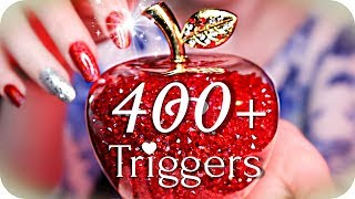 ASMR 400+ Triggers for INTENSE Tingles! 😱 (NO TALKING) Fast Preview Style to Cure Tingle Immunity ✨