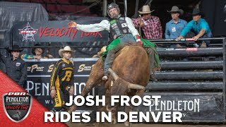 Josh Frost Rides Udder Lover in Round 3 of Denver Chute Out | 2020