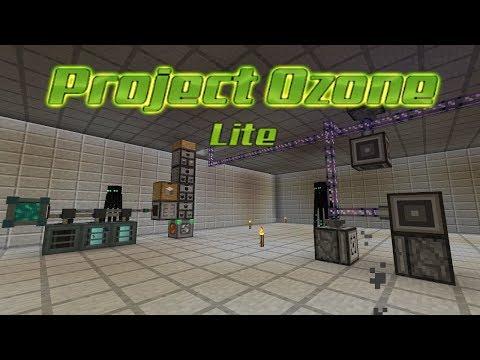 Project Ozone Lite - AUTO GRAVEL SAND DUST [E17] (HermitCraft Server Modded Minecraft Sky Block)