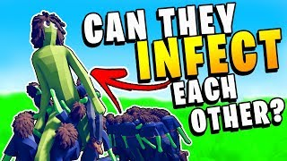 TABS - Can ZOMBIES INFECT Other ZOMBIES? -  Totally Accurate Battle Simulator