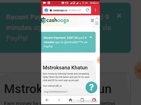 Cashooga | cashooga.co Review | Make money online with Cashooga