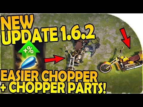 NEW UPDATE 1.6.2 - NEW EASIER CHOPPER + CHOPPER PARTS - Last Day On Earth Survival 1.6.2 Update