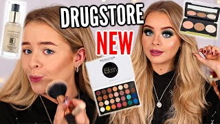 TESTING NEW DRUGSTORE MAKEUP!! PATRICIA BRIGHT X REVOLUTION, MAX FACTOR, REVLON etc