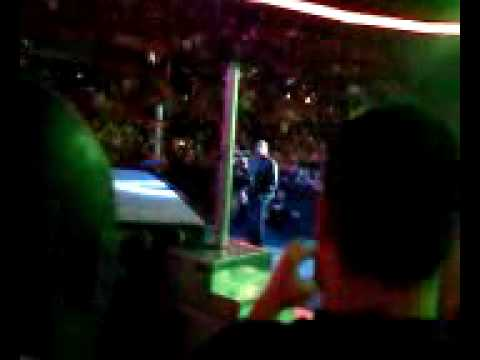 WWE live HHH entrance front row