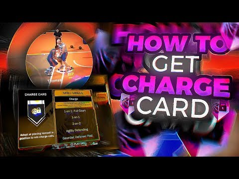 How To Get Charge Card In One Hour NBA 2K18