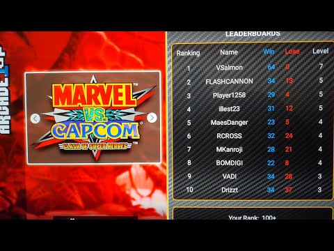 X-Men vs Street Fighter(Arcade 1Up) Friday Night Fights #1 online play from Footie Laughs