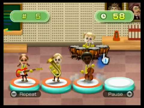 Wii Music: Pitch Perfect (Level 8)