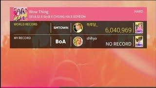 [Superstar SMTown] Wow Thing - Seulgi × SinB × Chung Ha × Soyeon