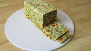 Recette de la terrine de légumes aux oeufs - Recette facile