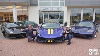 TRIPLE Ferrari Collection Day! Buying 3 New Cars at One Time