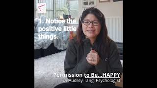 Permission to Be...HAPPY