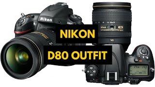 Nikon D80 DSLR Unboxing & Review